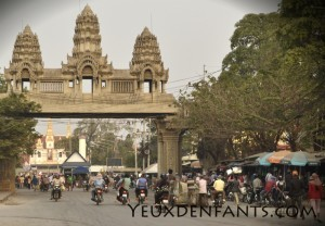 Poipet -  Frontière Thaïlande Cambodge