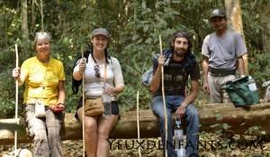 Mondulkiri - Équipe expédition