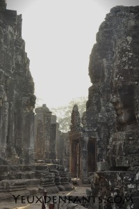 Angkor - Bayon Wat au petit matin