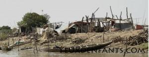 Tonle Sap - Village de pêcheurs