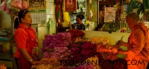 Bangkok - Scène de marché