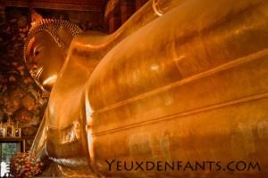 Bangkok - Bouddha couché (Wat Pho)