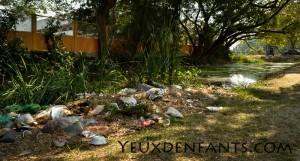 Ayutthaya - Déchets de rue