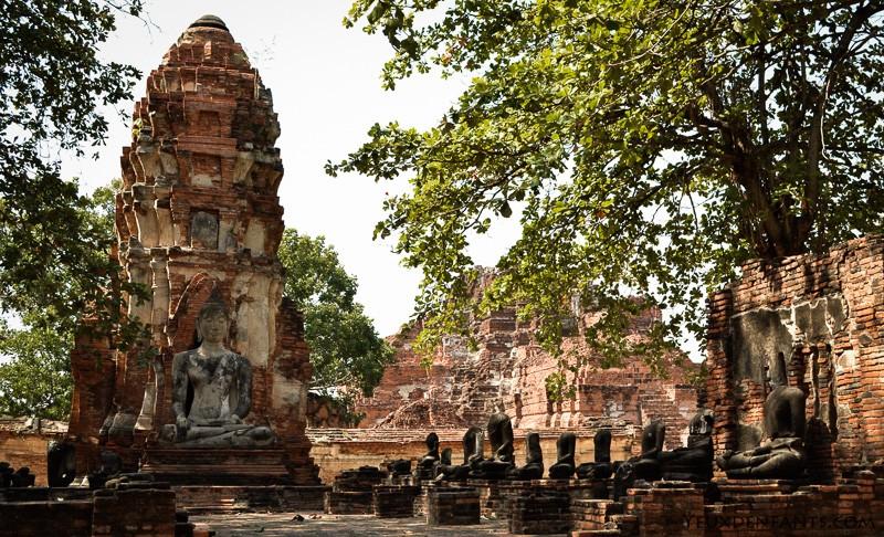 Ayutthaya et la route vers Khao Yai National Park