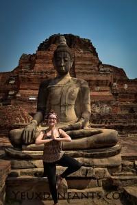 Ayutthaya - Yoga et Bouddha