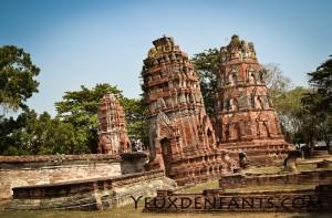 Ayutthaya - Ruines religieuses