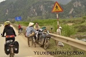 Région de Cam Thuy - Interactions