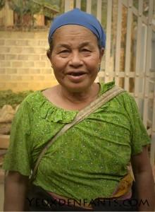 Région de Na Nghia - Vieille femme aux dents bleues