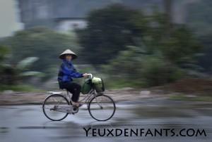 Région de Ninh Binh - Sur le chemin du travail