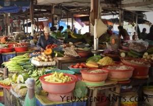 Hoi An - Scène de marché
