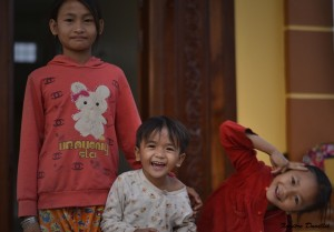 Tida (7 ans) – À l'approche de Siem Reap – Cambodge