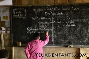 Région de Nong Pet - Scène de classe