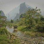 Au sud de Phoukhoun - On dirait le Viêtnam...