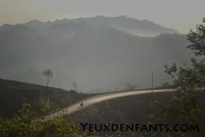 Région de Nam Chat - L'ascension