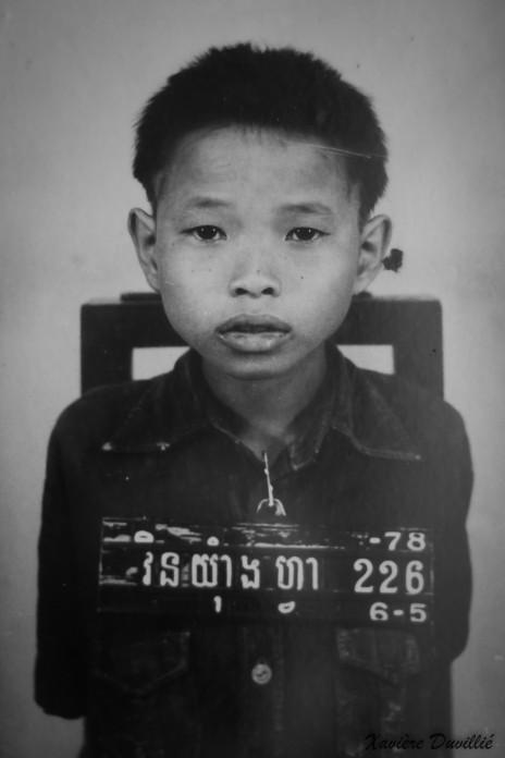 La peur – Musée du génocide à Phnom Penh – Cambodge