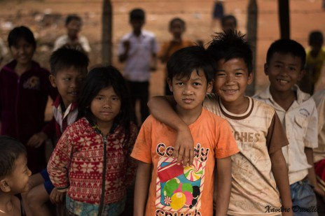 A la sortie de l'école – Province de Mondolkiri – Cambodge