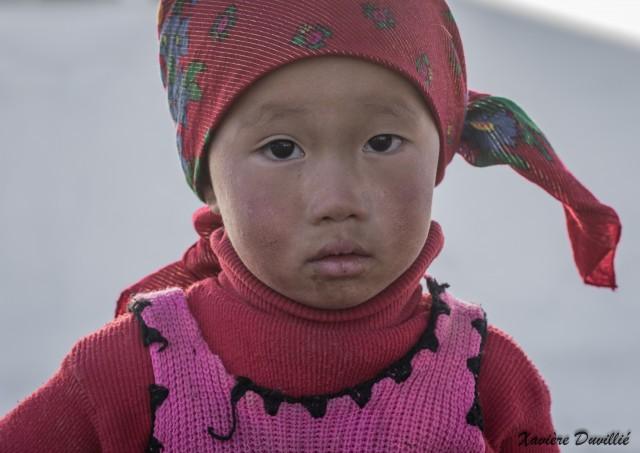 Petite fille kirghize – Alichur – Tajikistan