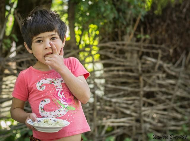 En guise de bonbons à partager… – Région d'Obigarm – Tajikistan