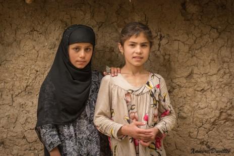 Deux amies, deux couleurs – Région de Kalaykhusayn – Tajikistan