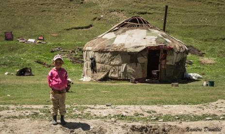Petit garçon nomade – Région de Sary-Tash – Kirghizstan