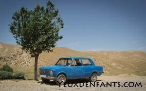 Sur la route, entre Samarcande et Boysun - Influence ex-URSS
