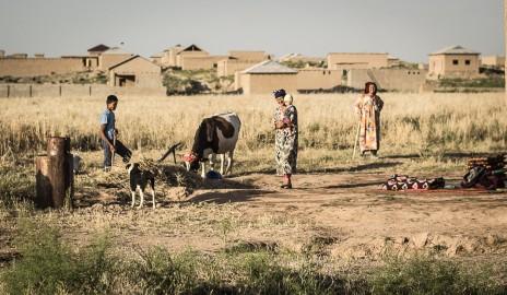 De Samarcande à la frontière tajike