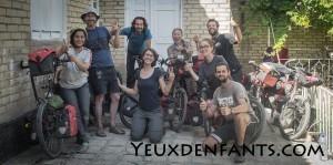 Boukhara - Caravane de cyclotouristes