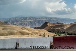 Étendue de montagnes - Région de Toktogul
