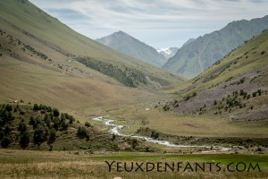 Montagnes - Entre Toktogul et Bishkek