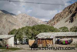De khorog à Alichur - Au village, dans la montagne