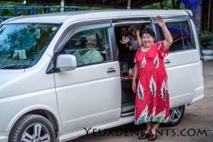 Rencontre sur la route - Entre Bishkek et Osh