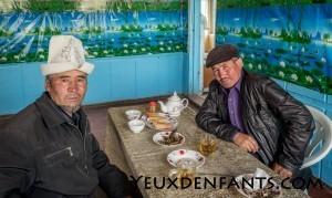 Alichur - Rencontre kirguize