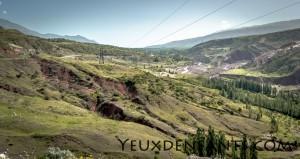 Entre Dushambé et Qalai Khum - Mélange de verts
