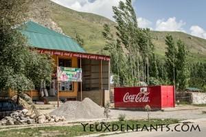 Dushambé et Qalai Khum - Coca Cola est partout !