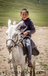 Berger en herbe - Région de Sary Tash