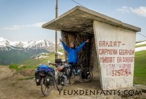 Entre Dushambé et Qalai Khum - Et un col de franchi, un !