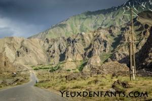 De Qalai Khum à Khorog - Entre soleil et nuages